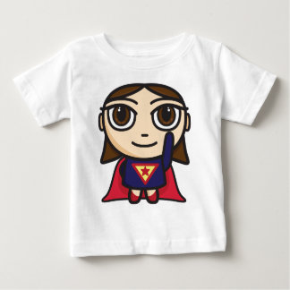 Super Hero Girl Character Baby Tee Shirt