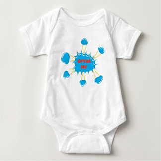 Super Hero Gotcha Day Adoption Design Baby Bodysuit
