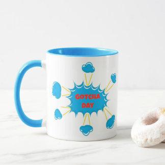 Super Hero Gotcha Day Mug