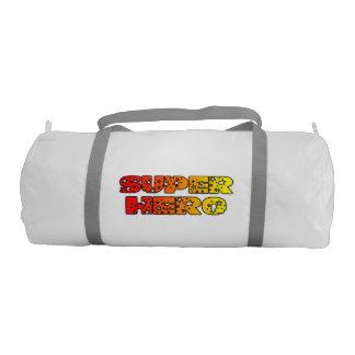 super hero gym duffel bag