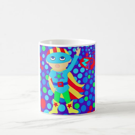 Super Hero  Kid Coffee Mug