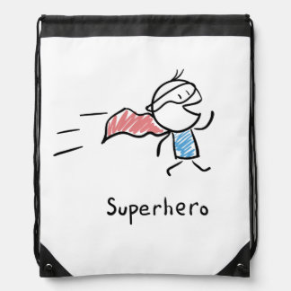 Super Hero Rave Bag Backpacks