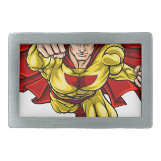 Super Hero Rectangular Belt Buckle