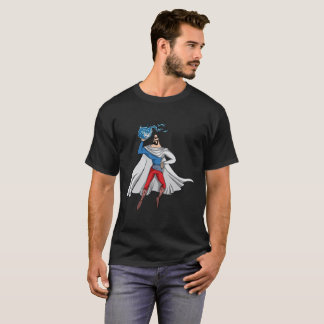 Super Hero, Russian Flag Colors T-Shirt