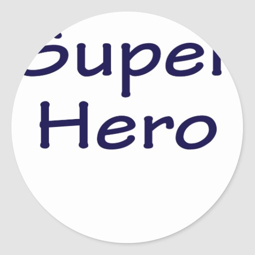 Super Hero Stickers