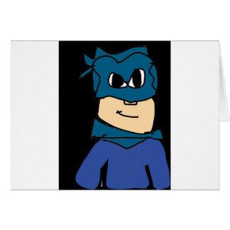 super heroe card