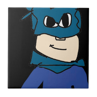super heroe ceramic tile