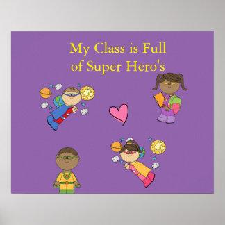 Super Hero's poster II