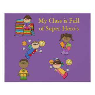 Super Hero's poster III