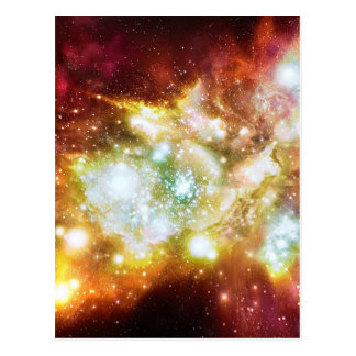 Super Hot and Bright Lynx Arc Star Cluster Postcard