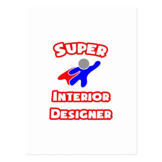 Super Interior Designer Postcard