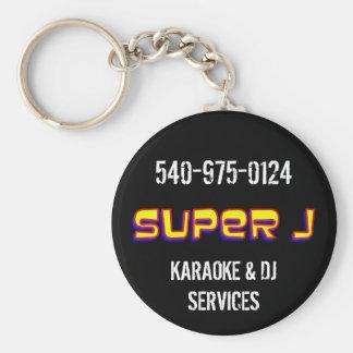 Super J Key Chain