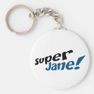 Super Jane Key Chain