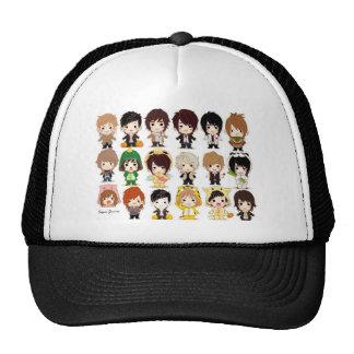 Super Junior Cartoon Wallpaper big Mesh Hats