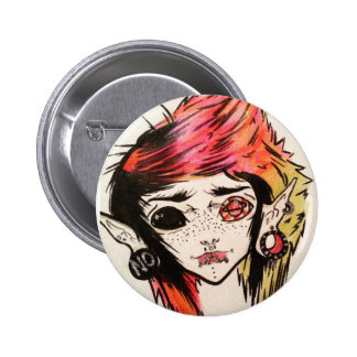 Super kawaii 2 ¼ Inch round Button