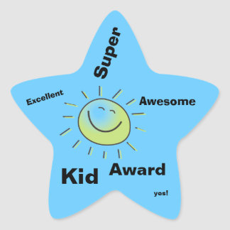 Super Kid Award Stickers