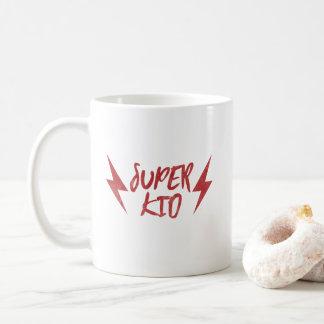 Super Kid Lightning Bolt Red Super Mug