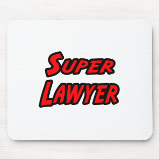 Super Lawyer Mouse Pads