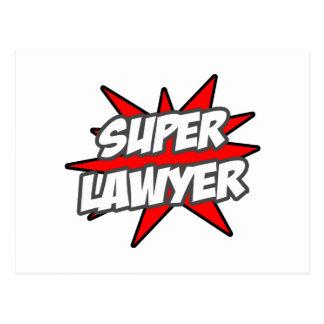 Super Lawyer Postcards