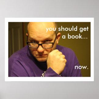 super legit librarian poster