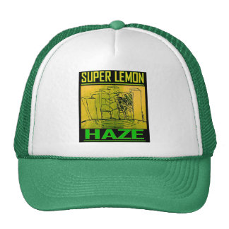 SUPER LEMON HAZE TRUCKER HATS