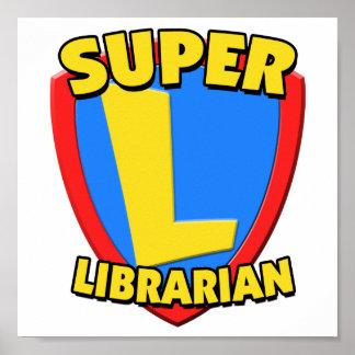 Super Librarian Poster