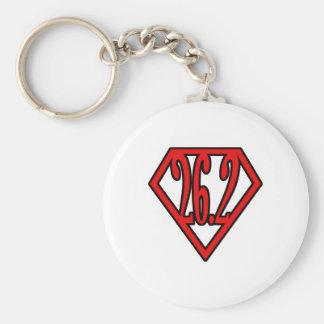 Super Marathoner Key Ring