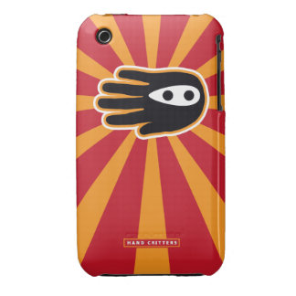Super Mini Ninja Hand iPhone 3 Case