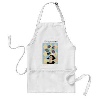 Super Mom illustration apron