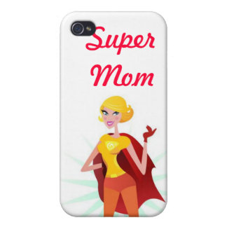 Super Mom iPhone 4/4S Covers