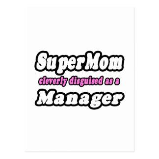 Super Mom...Manager Postcards