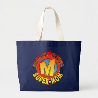 Super Mom Mother s Day Tote Bag