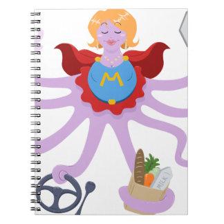 Super Mom Notebook