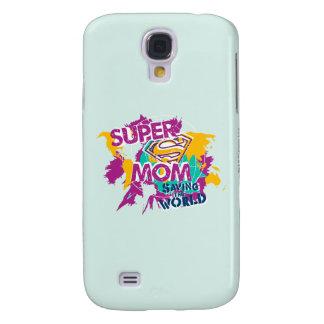 Super Mom Saving the World Samsung Galaxy S4 Case