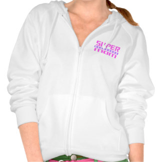 Super Mom Hooded Pullover