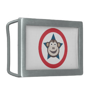 Super Monkey Belt Buckle
