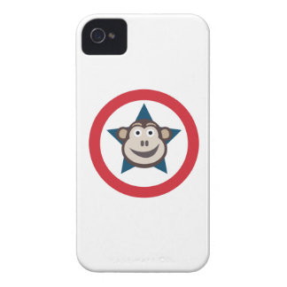 Super Monkey Graphic IPhone4 Case (Barely There)