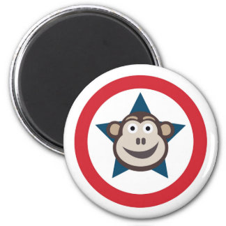 Super Monkey Graphic Magnet