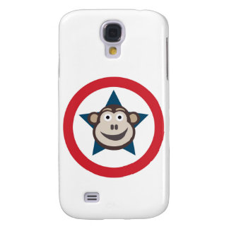 Super Monkey Graphic Samsung Galaxy S4 Covers