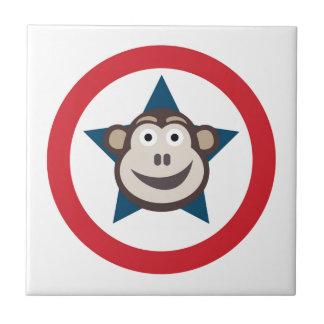 Super Monkey Graphic Tile