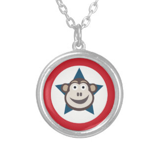 Super Monkey Necklace (Round)