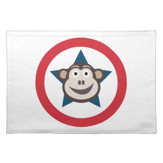 Super Monkey Place Mat