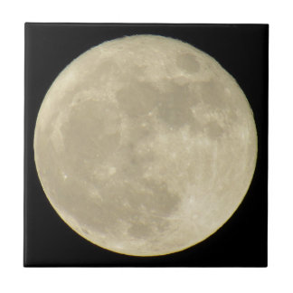 Super Moon Art Tile