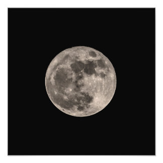 Super Moon November 2016 Photo Print Image