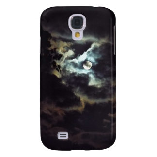 super moon of the night sky galaxy s4 cover