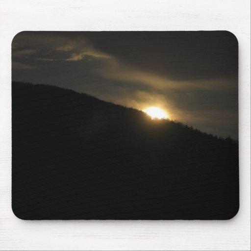 Super Moon over Washington Mountain Mouse Pads