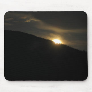 Super Moon over Washington Mountain Mouse Pads