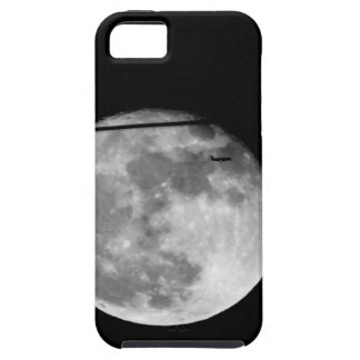 Super Moon with Airplane Passing/Customizable! iPhone 5 Covers