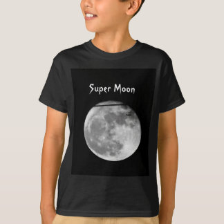 Super Moon with Airplane Passing/Customizable! T-Shirt