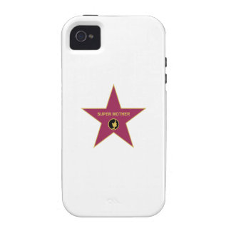 Super Mother - Hollywood Mother Star Case-Mate iPhone 4 Cases